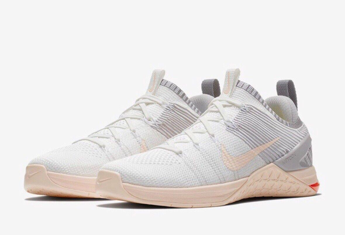 Nike Metcon DSX Flyknit 2 UK 7 7 7 EU 41 Crossfit blancoo gris para Mujer  tienda hace compras y ventas