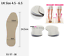 Pronation-Correction-X-O-Type-Bowlegs-Supination-Eva-Leather-Posture-Insoles miniatura 14