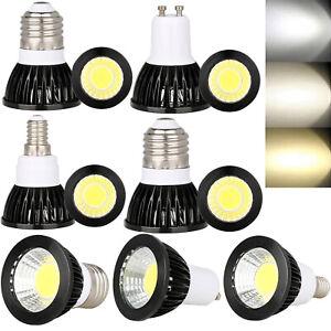 Dimmable LED Spotlight E26//E27//GU10//E14 6W 9W 12W Bulb COB Lamp Ultra Bright