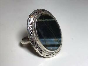 Vintage-Signed-Taxco-Mexican-Sterling-Silver-Ring