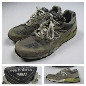 a23aa0ef New Balance 991 Mens 12 4E Gray Running Shoes Steve Jobs M991GL Made ...