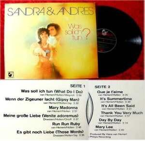 LP Sandra & Andres: Was soll ich tun? (Hansa) D 1972