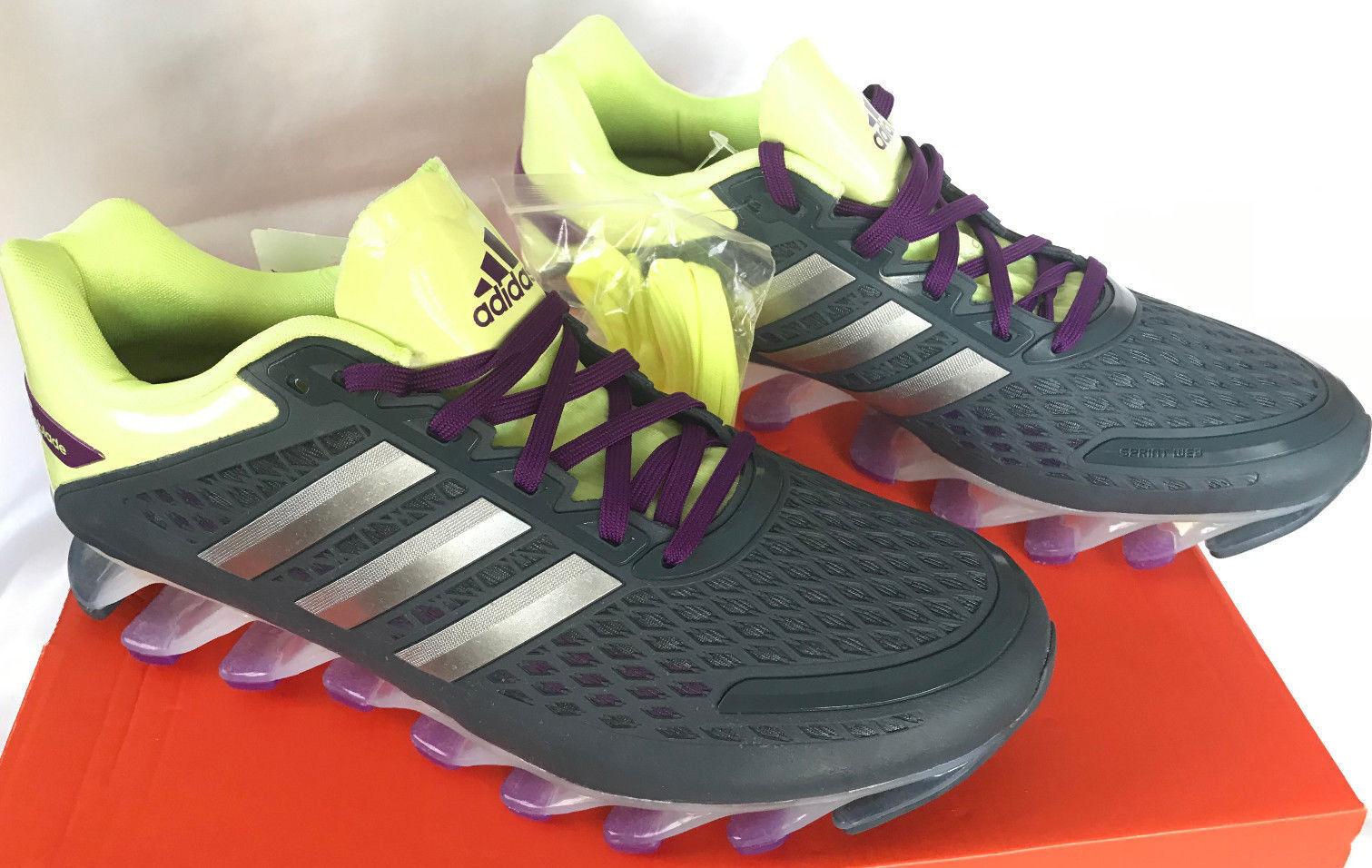 Adidas Springblade Razor W G97688 Glow Silver Marathon Running shoes Women's 8.5