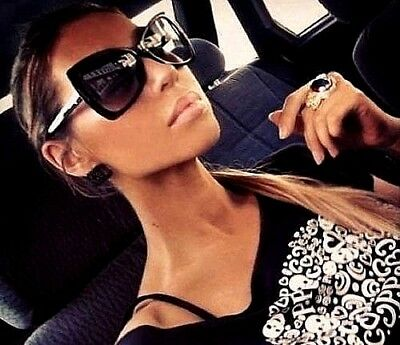 """Symbol Der Marke Damen Sonnenbrille Xxl Überdimensional """" Schmetterling """" Aviator Flache HöChste Bequemlichkeit Sonnenbrillen & Zubehör Sonnenbrillen"""