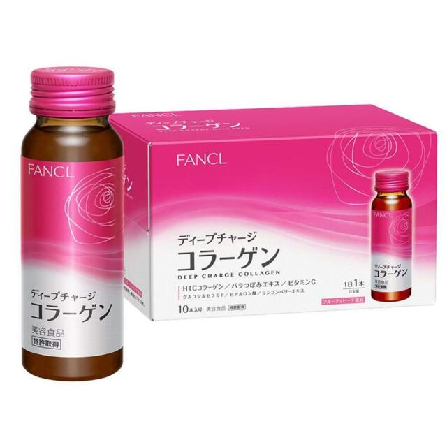 FANCL deep charge collagen drink 50ml about 10 days *Japan new