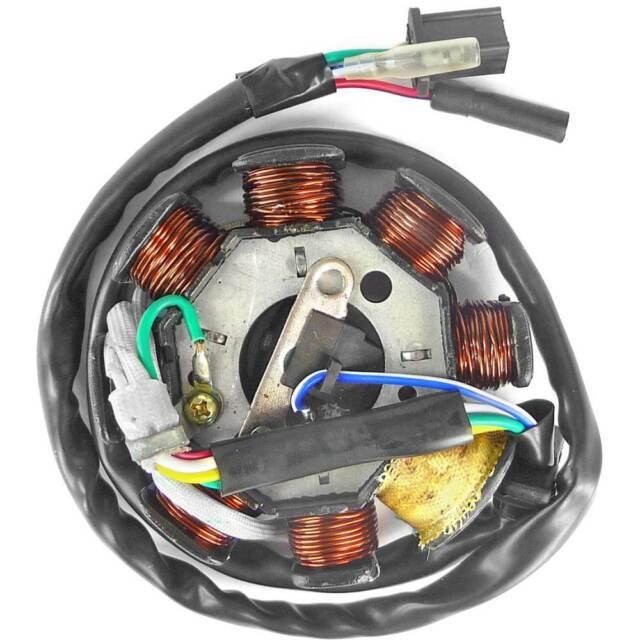 Estátor Ignición Kymco Agility 125/150cc y Motores GY6 4T 152QMI 125/150cc