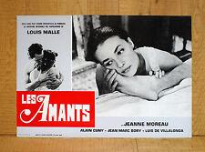LES AMANTS fotobusta poster Jeanne Moreau Jean-Marc Bory Louis Malle Amanti Q33