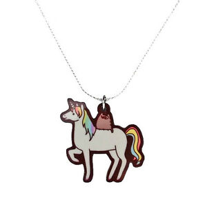 Das Bild Wird Geladen Pusheen Halskette Einhorn The Cat Schmuck Offizielle