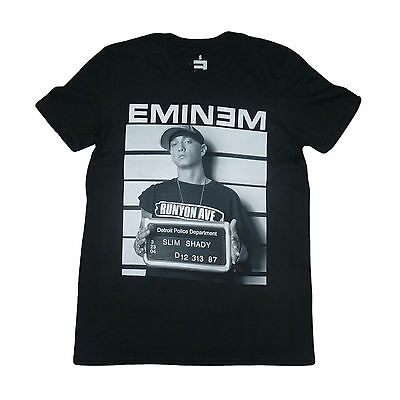 EMINEM T-Shirt Arrest Slim Shady All Sizes NEW OFFICIAL Marshall Mathers