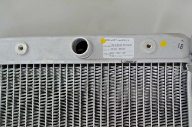 14-16 OEM Yamaha Viking Wolverine 700 EPS RADIATOR ASSEMBLY Fan 1XD-E2461-00-00