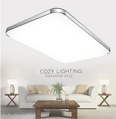 Modern Minimalist 48W LED Square Flush Mount Light Home Ceiling Fixture