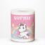 Personalised-Unicorn-Stars-Rainbow-Kids-Children-039-s-Savings-Money-Box-Gift-Idea thumbnail 1
