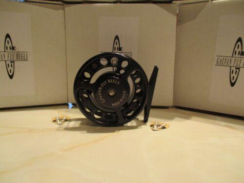 Galvan Rush série légère eau salée & saumon moulinet mouche & bobines