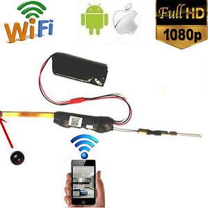 Wireless HD 1080P Mini DIY Module WIFI Hidden Camera DVR Video Motion Detection