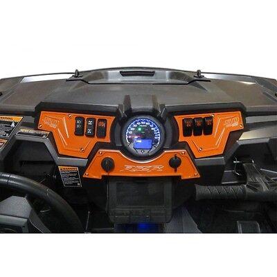 Polaris RZR 900s 2015 UTV ATV Dash Panel Kit Billet Aluminum Orange Made USA