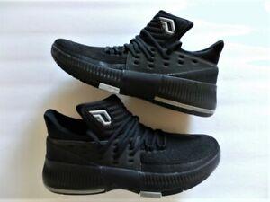 Adidas-Damian-D-Lillard-Dame-3-III-Bounce-black-grey-gray-size-11-DS-NEW-NWOB