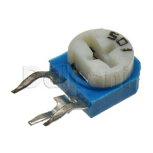 10pcs-WH06-1A-501-Side-Adjust-Carbon-Track-Trimmer-POT-1-Turn-500-Ohm