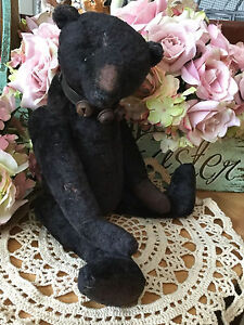 MashaLe-OOAK-ARTIST-TEDDY-BEAR-KLAUS-NEW-STOCK