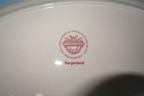 Villeroy /& Boch Burgenland rot Speiseservice Teile zur Auswahl
