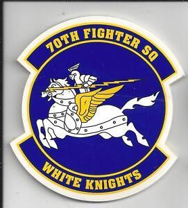 "USAF STICKER DECAL ZAP 335th FIGHTER SQ FS  CHIEFS 3 1//4/"""