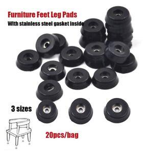 20 Stücke Gummi Tisch Stuhl Möbel Füße Bein Pads Bodenschoner JYDE