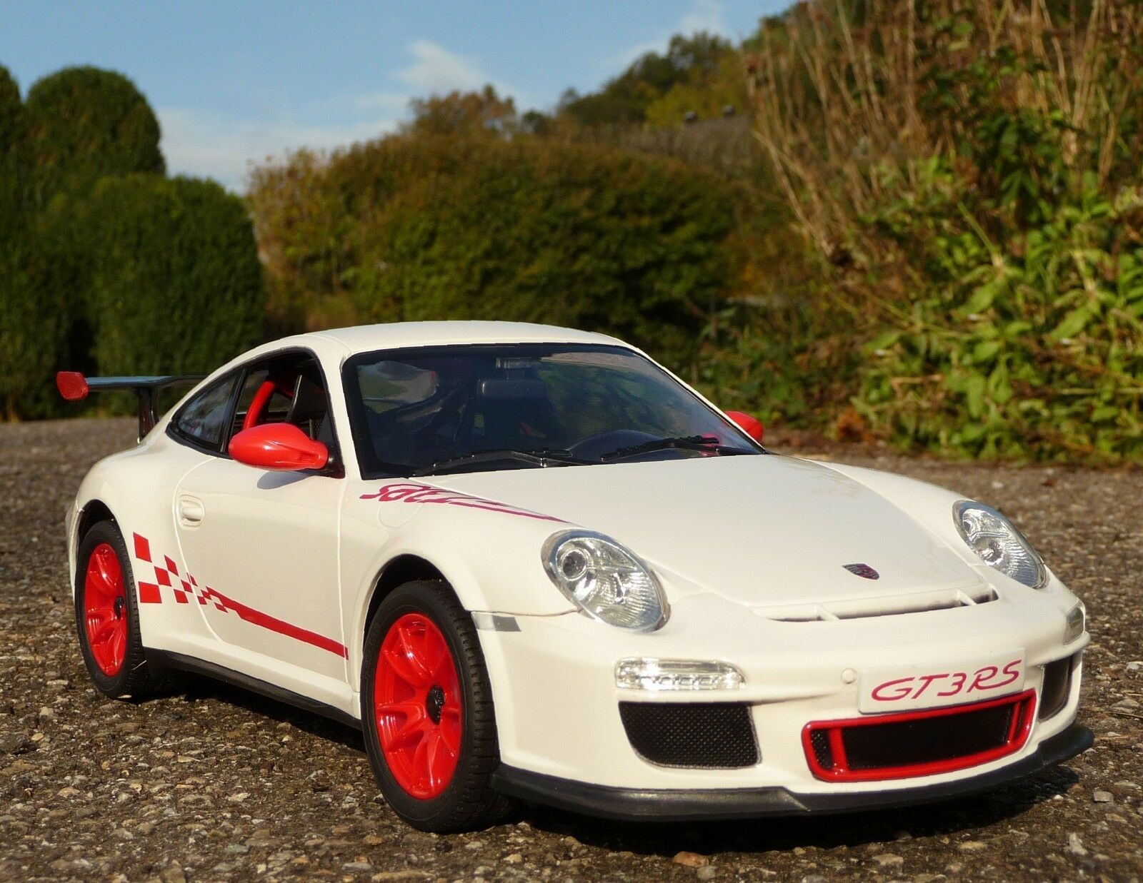 ecco l'ultimo RC modellololo Porsche 911 911 911 gt3 RS con luce lunghezza 32cm  remoto 27 MHz  404311  da non perdere!