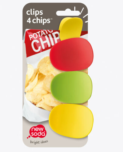 Choose Your Color New Soda Clips 4 Chips CCV1
