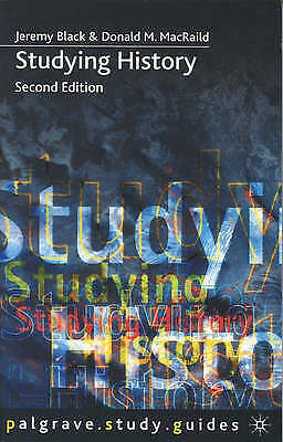 1 of 1 - Studying History by Donald M. MacRaild, Professor Jeremy Black (Paperback, 2000)