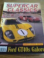 SUPERCAR CLASSICS FEB 1991, FORD GT 40, BENTLEY MK VI, ALPINE 110S, FACEL, , jm