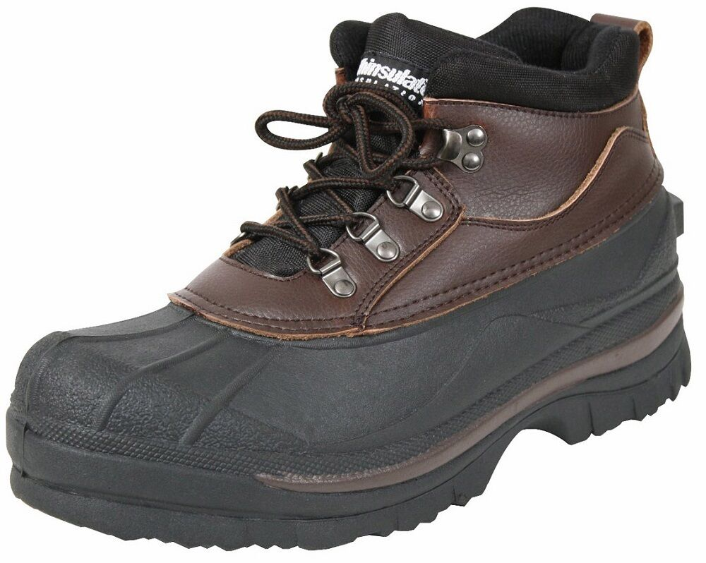 Winter Boots Brown Thermoblock Cold Weather Waterproof 5