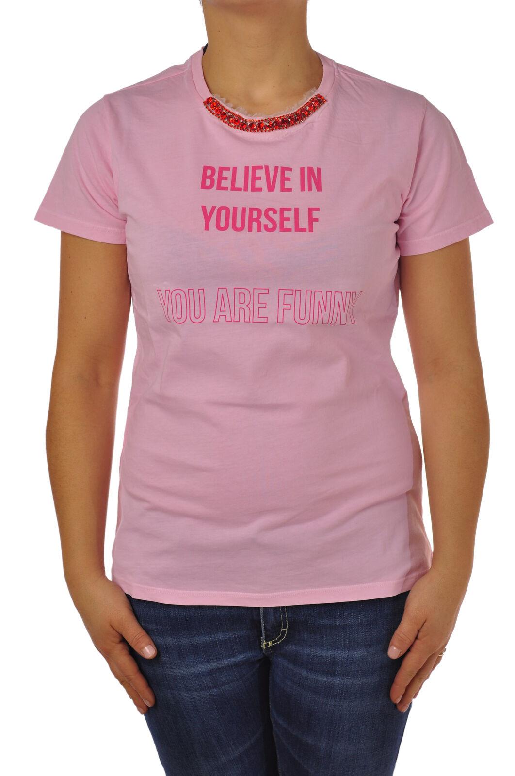 Pinko - Topwear-T-shirts - Woman - Pink - 4775813F181005