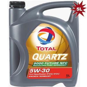 Total-Quartz-Future-NFC-9000-5W30-Synthetic-Technology-Engine-Oil-5-Litre