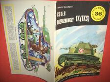 Typy Broni Profileheft TBiU 36, Tankette TK (TKS)  rar!
