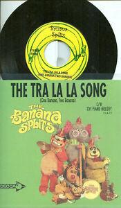 "THE BANANA SPLITS TRA LA LA THEME SONG 45 RPM 7"" VINYL"