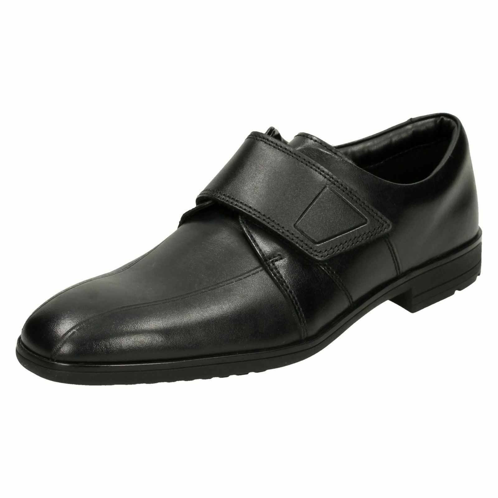 Boys Clarks Bootleg School Shoes 'Willis Time'
