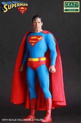 Crazy Toys 1/6 Classic Superman Clark Kent Figure NEW