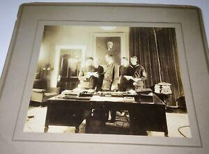Rare-Antique-American-World-War-I-Soldier-amp-Sailor-William-McAdoo-Cabinet-Photo