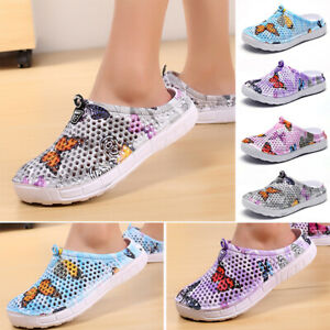 Unisex-Slip-On-Garden-Clogs-Surfing-Shoes-Rubber-Sole-Beach-Sandals-Slippers-New