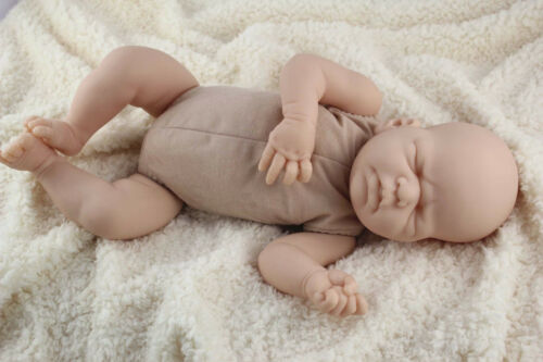 "17/""-18/"" reborn baby doll body cloth doe suede for full limbs arms and legs kits"