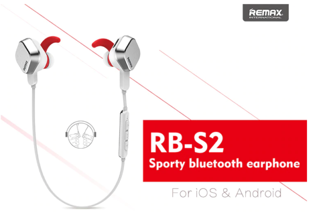 Remax Rm S2 Stereo Bluetooth Headset Black For Sale Online Ebay