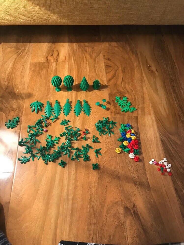 Lego Flowers, Plants, Trees, Leaves, Garden, Foliage, Shrubs Etc 100+ 100+ 100+  Spares b24432