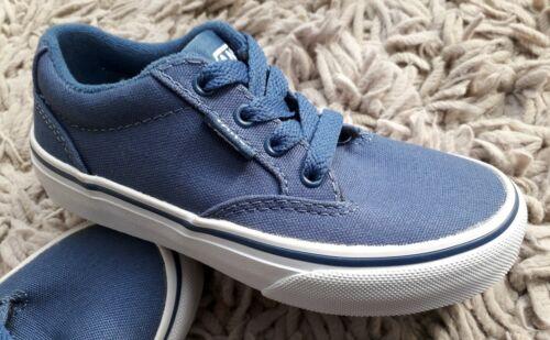 baskets taille 5 de Vans Winston bleues junior skate 11 pour Chaussures pompes à garçons en toile Uk BC8ORPwq