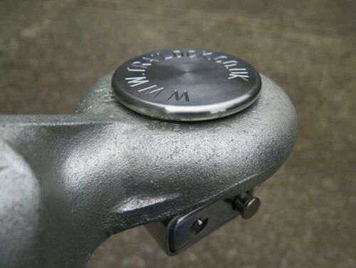 Ring hitch trailer lock 50mm slide pin lock fuel bowser plant Ifor Williams