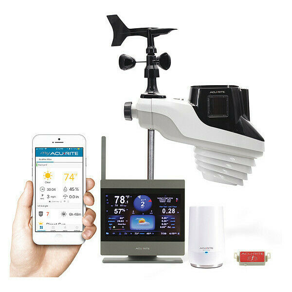ACURITE 01007M Atlas Weather Station W/ HD Touchscreen Display