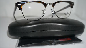 54a779e6170e RAY BAN Frame RX Eyeglasses New CLUBMASTER Tortoise RX5154 2012 49 ...