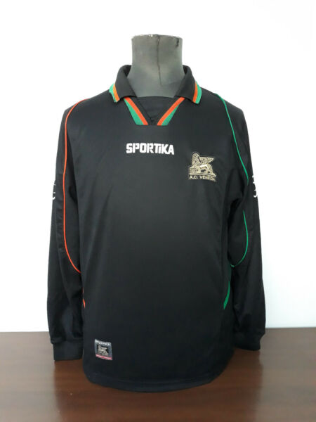 Amichevole Maglia Shirt Camiseta Maillot Sportika Ac Venezia 2003/04 Trikot Jersey Nr. 19 Rimozione Dell'Ostruzione