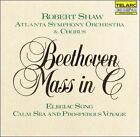 Beethoven: Mass in C; Elegiac Song; Calm Sea and Prosperous Voyage (CD, Aug-2007, Telarc Distribution)