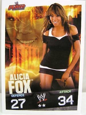 Slam attax evolution #074 Alicia Fox