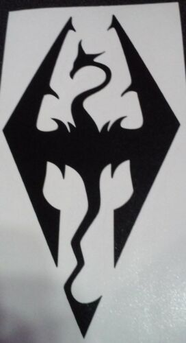 Decal Skyrim Sticker