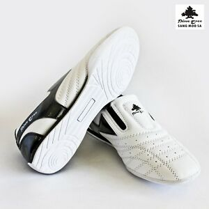 new photos 086a0 86306 Image is loading Taekwondo-Shoes-Martial-Arts-Slippers-White-Black-Budo-